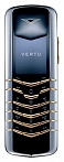 Vertu Signature Stainless Steel with Yellow Metal Keys